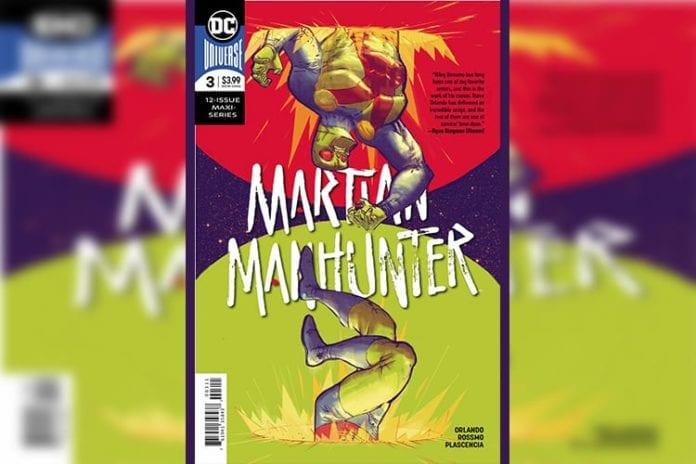 DC Comics Exclusive Preview: MARTIAN MANHUNTER #3
