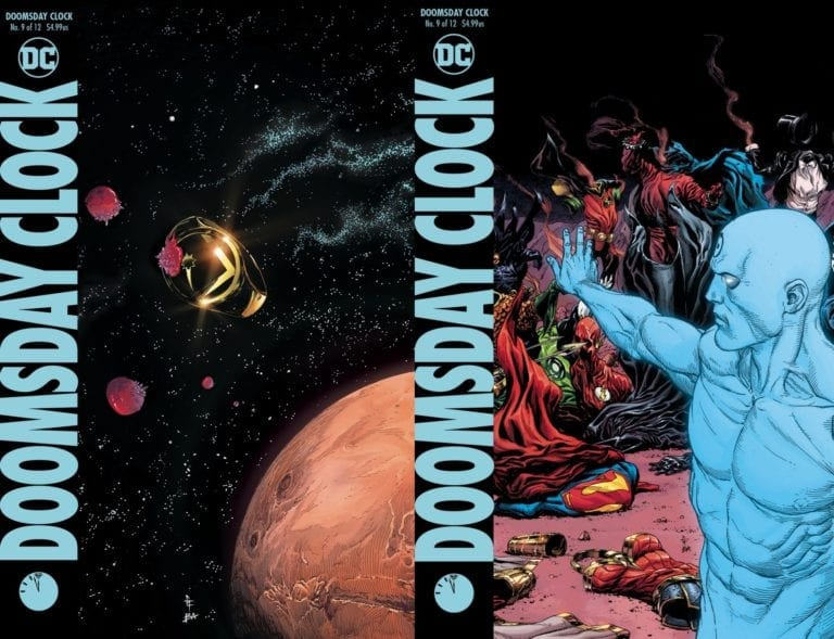 New Delays For Batman Damned Doomsday Clock