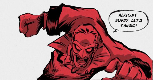 Comics On Kickstarter: Jamie Jones' THE BABOON