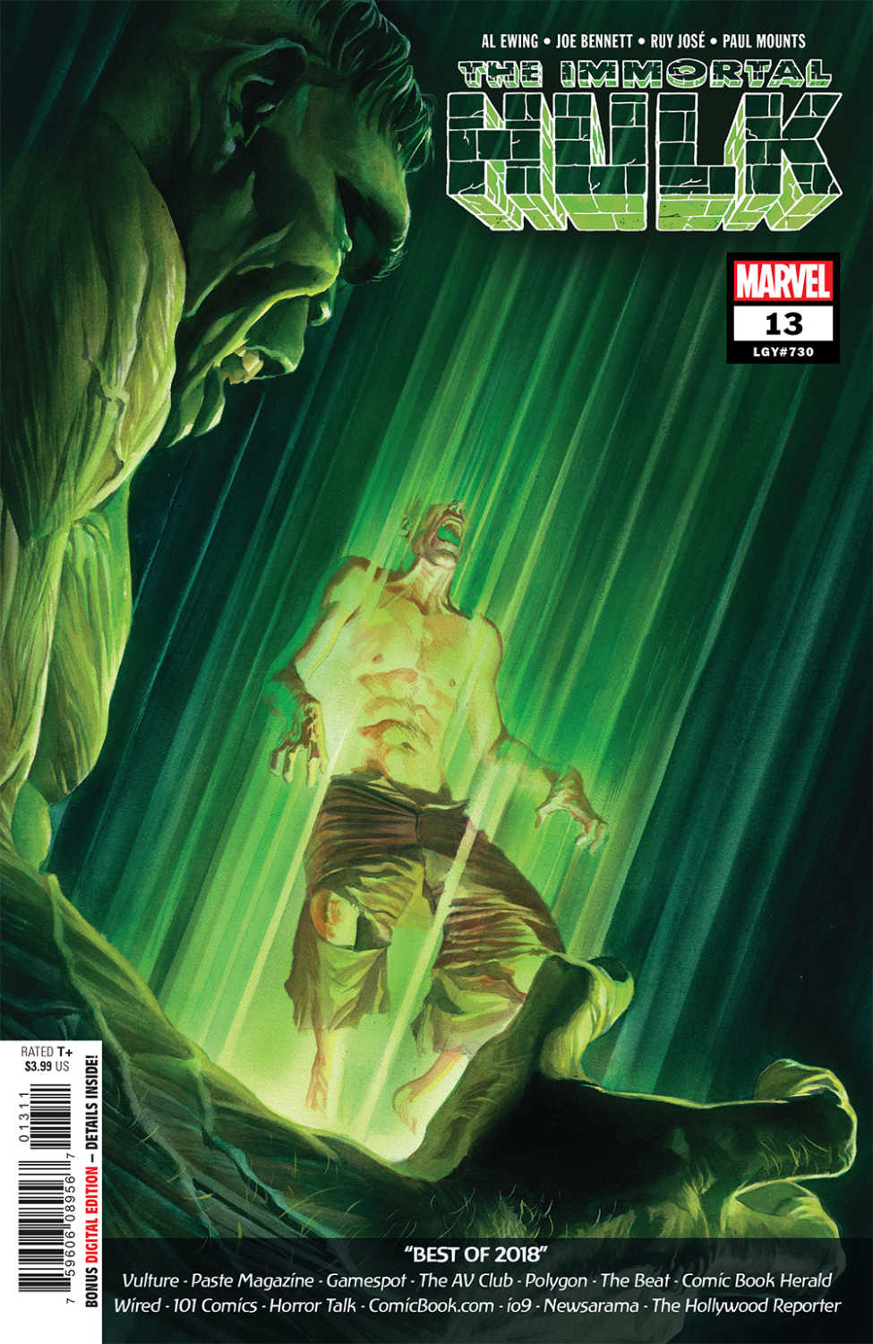 The Immortal Hulk #13 cover