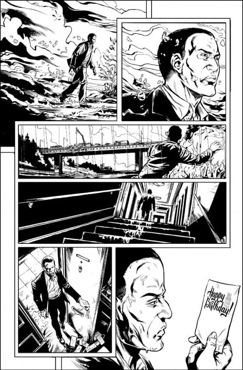 Stronghold #1 interior art AfterShock Comics