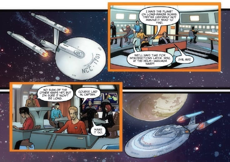 The Q Conflict #2 Credit: IDW Publishing
