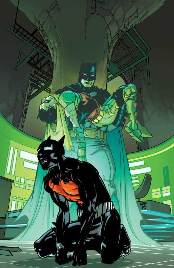 Batman Beyond #29 cover artwork