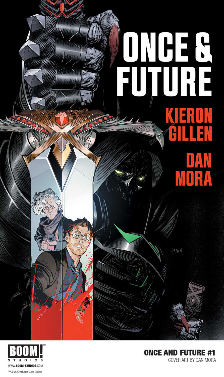 BOOM! Studios Announces Gillen and Mora's ONCE AND FUTURE 1