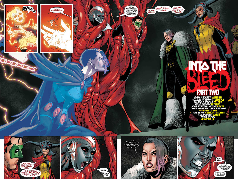DC Comics Exclusive Preview TITANS #34