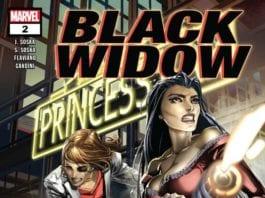 Black Widow #2 cover