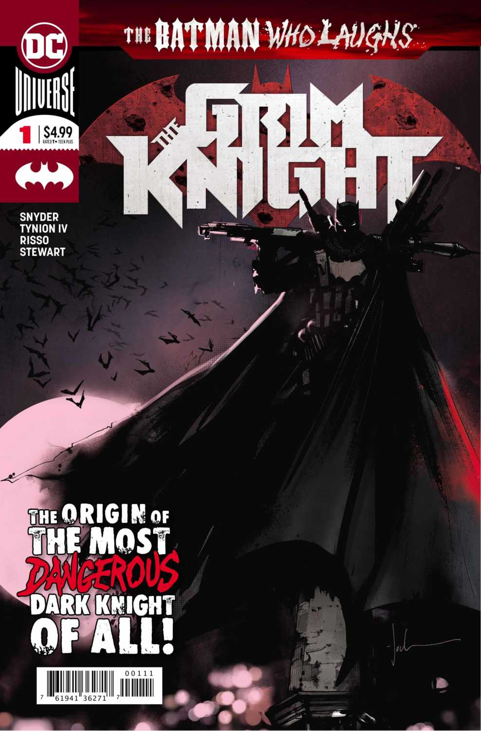 BATMAN WHO LAUGHS: GRIM KNIGHT main cover