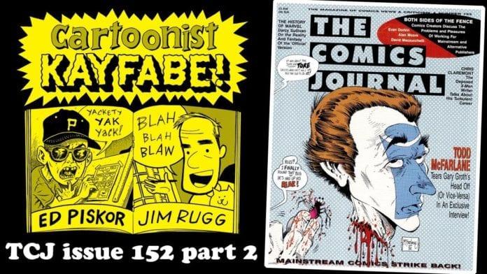 The Comics Journal 152, August 1992, part 2