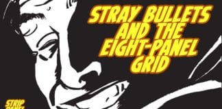 The Eight Panel Grid with Stray Bullets | Strip Panel Naked