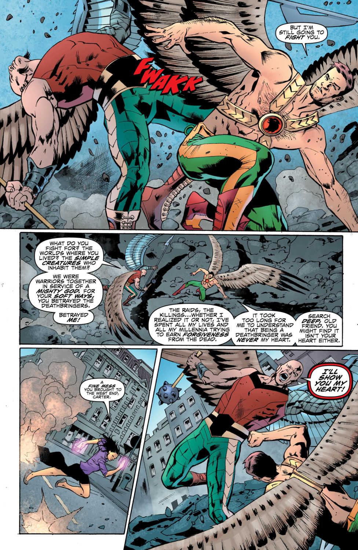 hawkman dc comics exclusive preview