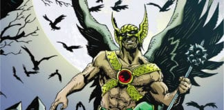 hawkman dc comics exclusive preview