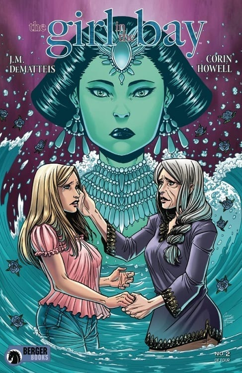 Review: THE GIRL IN THE BAY #2 Pushes The Boat Even Further 2
