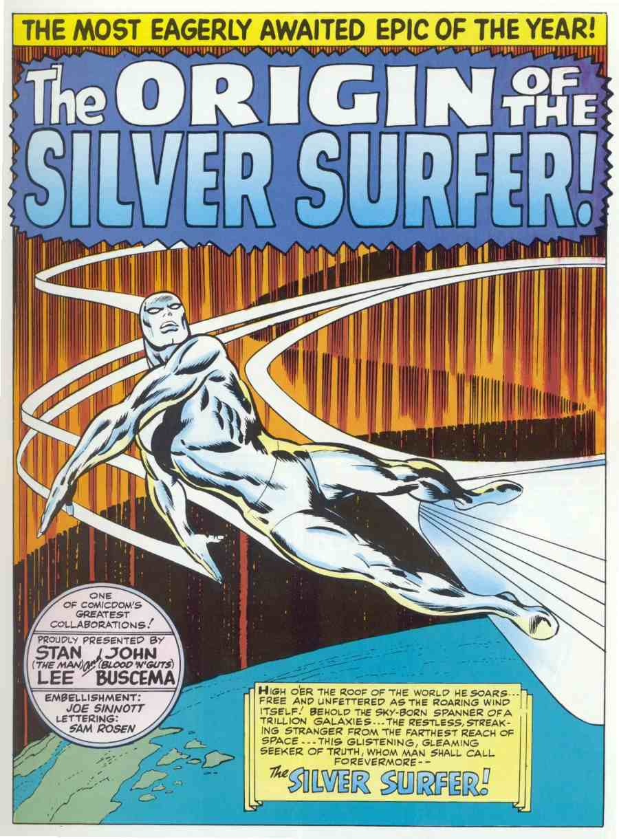 joe sinnott silver surfer