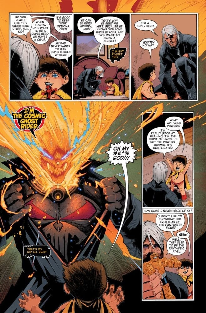 COSMIC GHOST RIDER DESTROYS MARVEL HISTORY...And Your Dignity 3