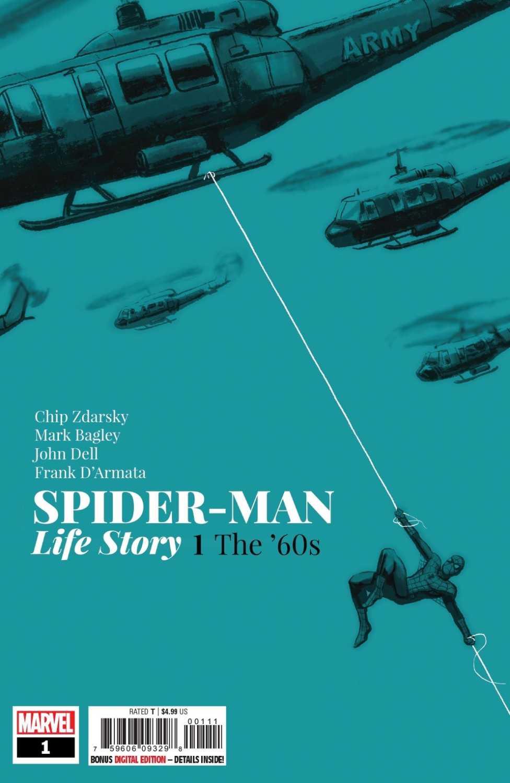 spider-man: life story 1 cvr
