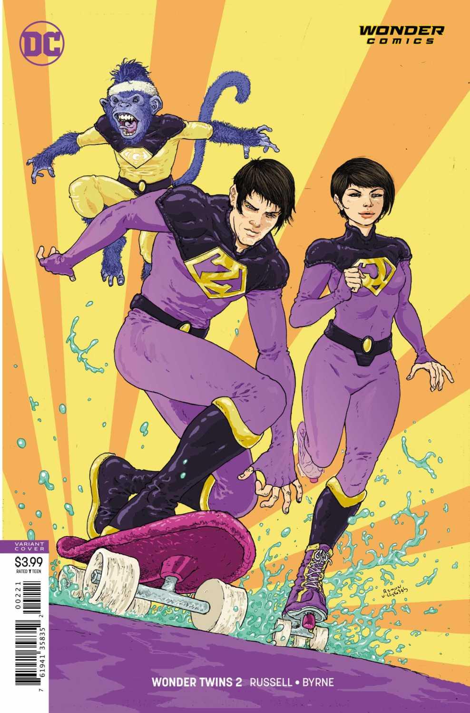 Wonder Twins #2 Var Cover