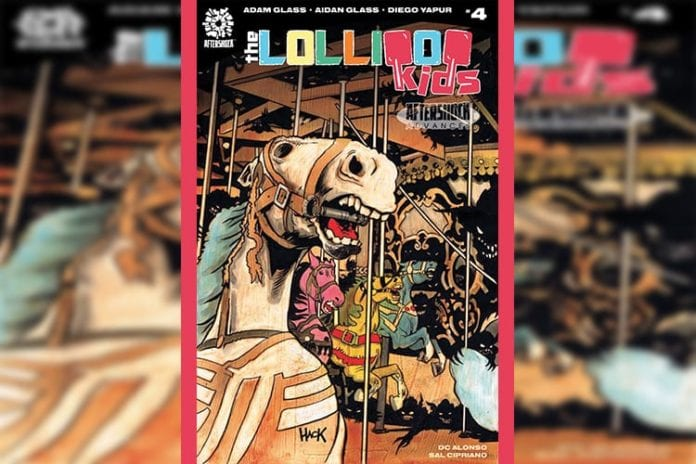AfterShock Exclusive Preview: THE LOLLIPOP KIDS #4