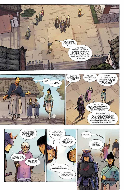 samurai race start