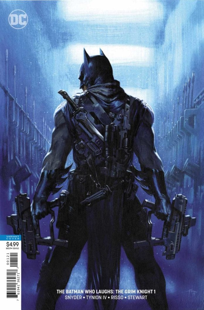 BATMAN WHO LAUGHS: GRIM KNIGHT variant cover