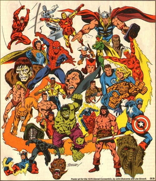 joe sinnott marvel comics