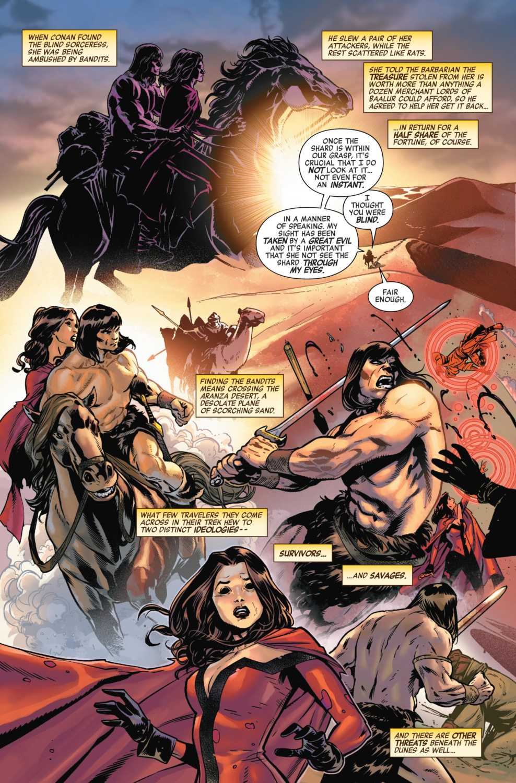 Wanda and Conan traveling together