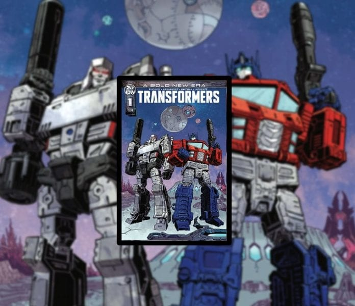 Transformers cover art