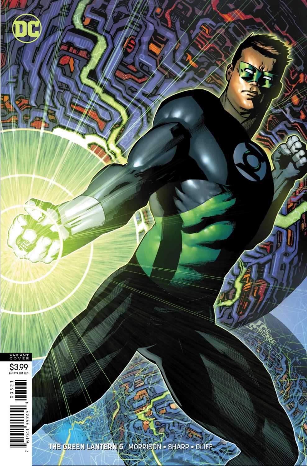 Green Lantern #5 variant cover