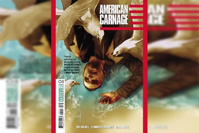 DC Vertigo Exclusive Preview: AMERICAN CARNAGE #5