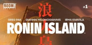 Ronin Island cover artwork