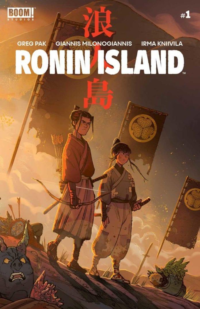 Ronin Island cover artwork