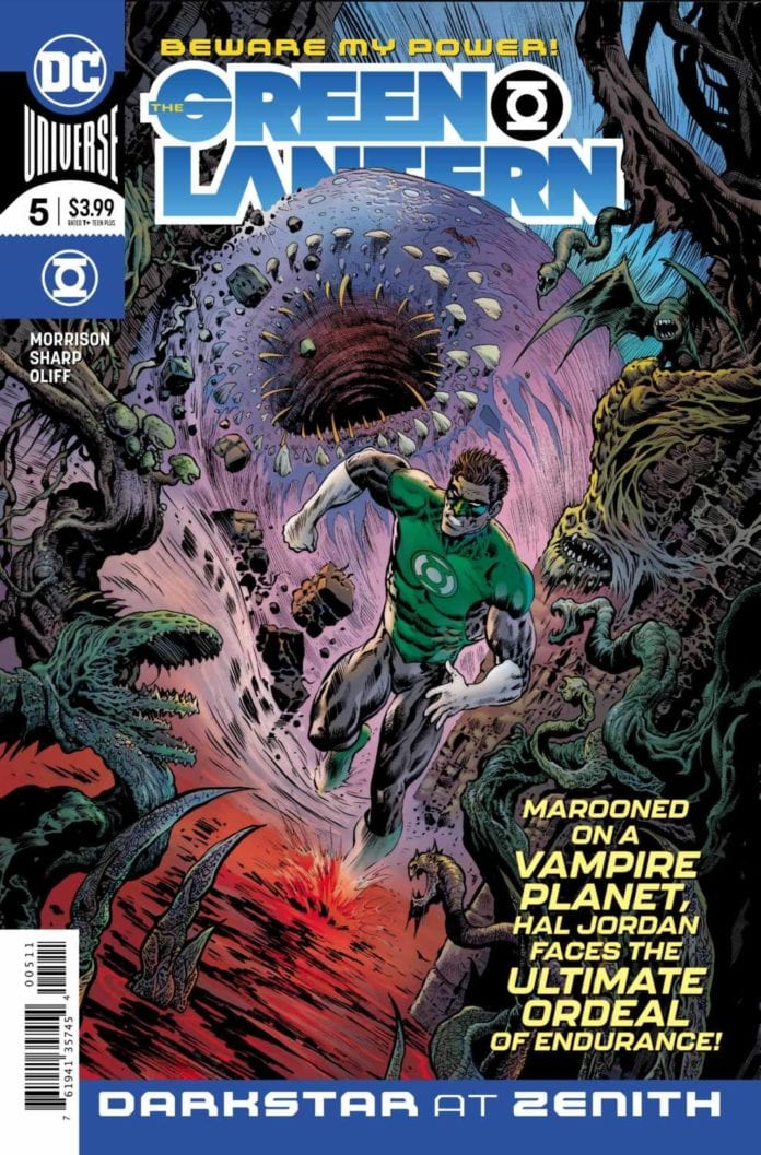 Green Lantern #5 main cover