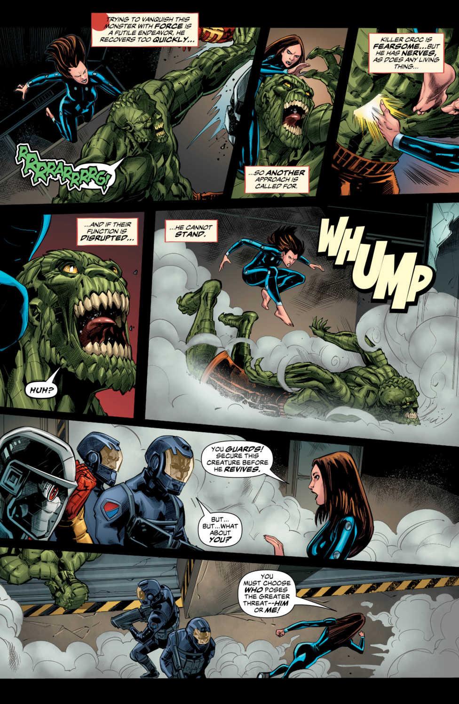 Exclusive DC Preview SUICIDE SQUAD BLACK FILES #5