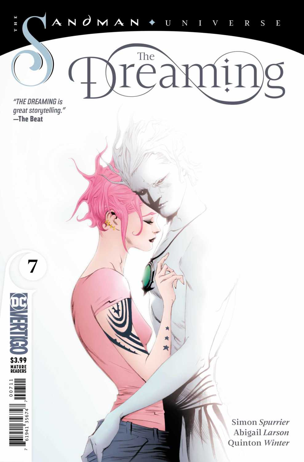 The Dreaming #7 Cover