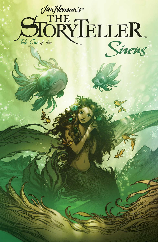 Jim Hensons Storyteller Sirens Cover