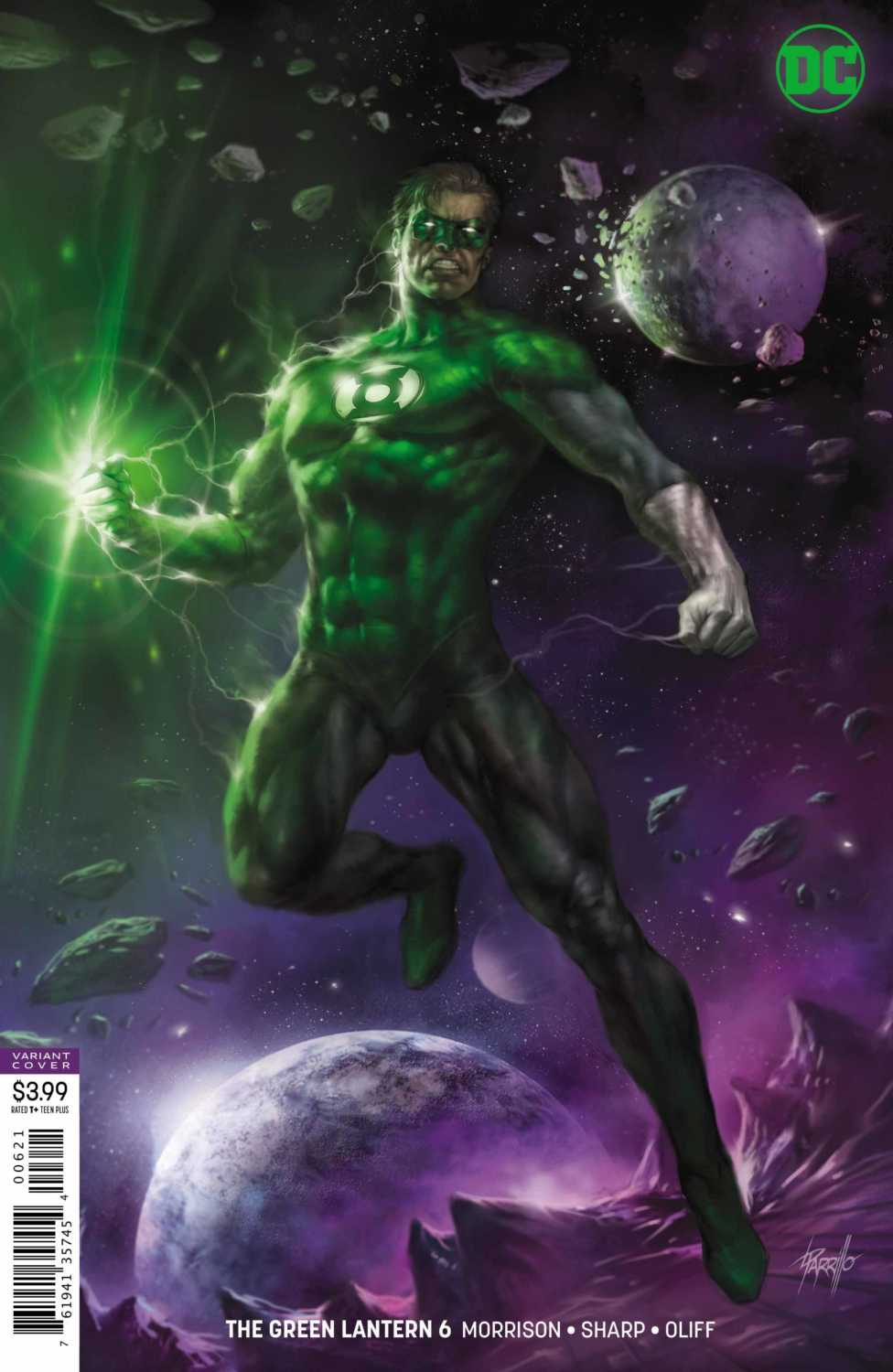 THE GREEN LANTERN #6 variant cover