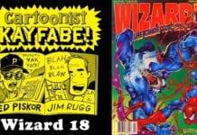 Cartoonist Kayfabe: Wizard 18, February 1993
