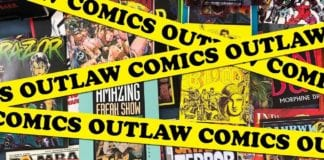 Cartoonist Kayfabe: Show and Tell 11: Outlaw Comics