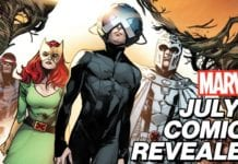EXCLUSIVE: July's New Marvel Comics Revealed!   Marvel's Pull List