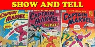 Cartoonist Kayfabe: Show and Tell: Captain Marvel?