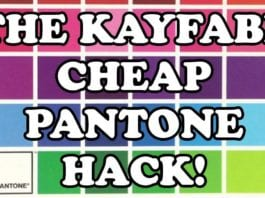 Cartoonist Kayfabe: Show and Tell 15: Precise Pantone Colors On A Budget! A Pro Tip