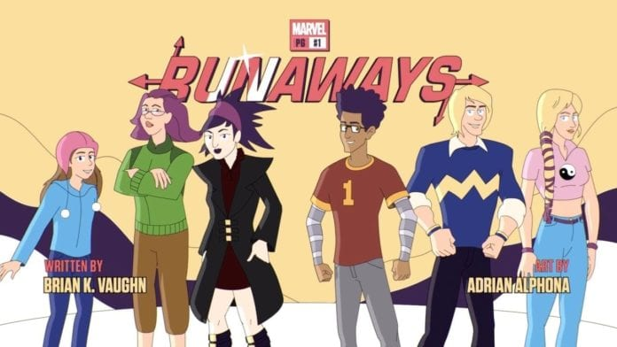 Runaways' First Appearance in 2003!   Today in Marvel History
