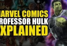 Marvel Comics: Professor Hulk Explained