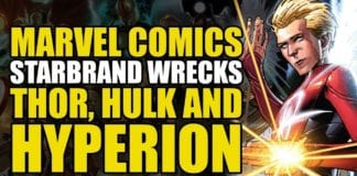 Star Brand Wrecks Thor, Hulk & Hyperion (Avengers/New Avengers Vol 4: The Last White Event)