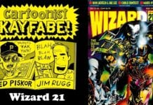 Cartoonist Kayfabe: Wizard 21, May 1993, Kayfabe Commentary