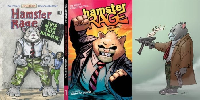 Comics On Kickstarter: Brian Crowley's HAMSTER RAGE