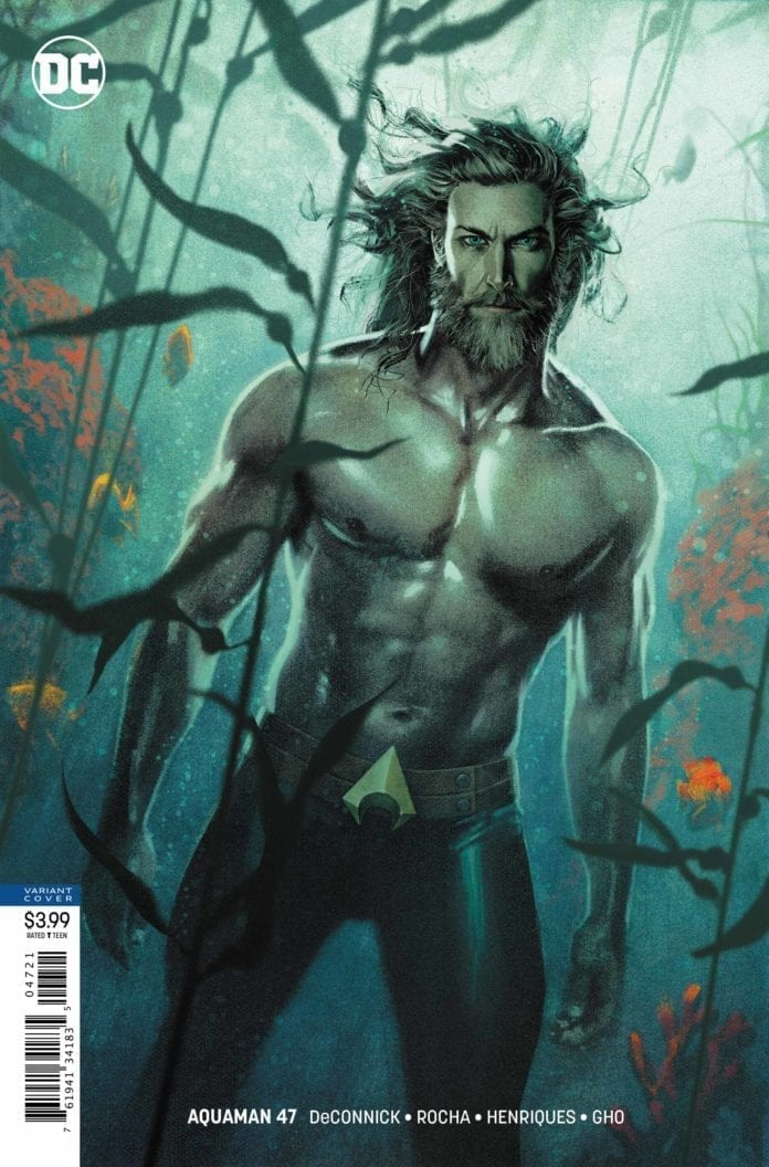 AQUAMAN #47 variant cover