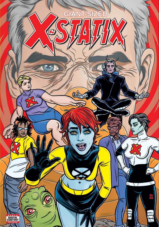 Marvel Reuniting Mutant Favorites in GIANT-SIZED X-STATIX #1 1
