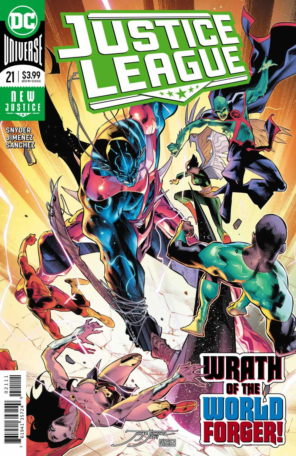 Justice League #21 Cover