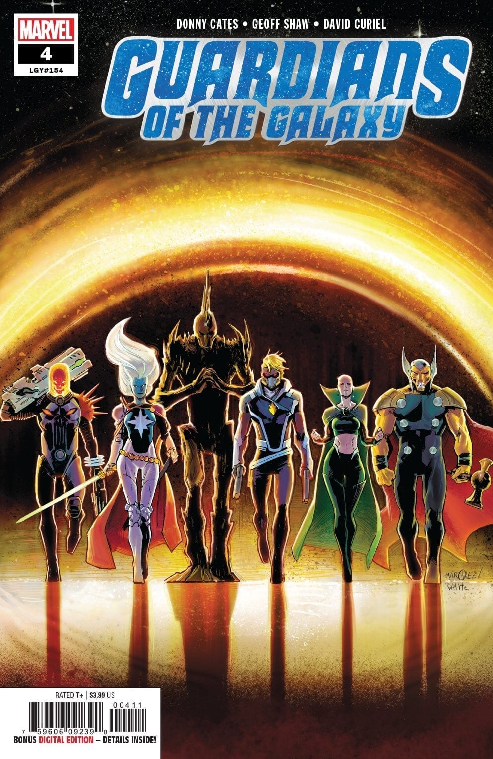 GUARDIANS OF THE GALAXY #4: The Galaxy's Most Dysfunctional Family 1