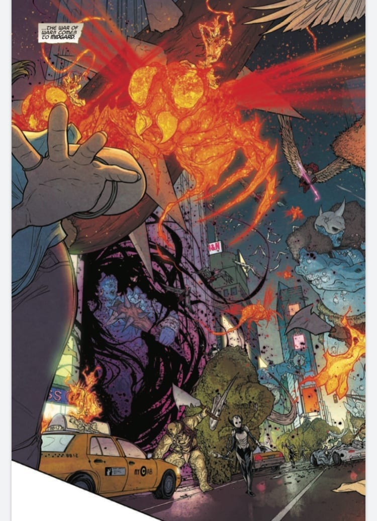 WAR OF THE REALMS #1: An Epic 7 Years In The Making 1